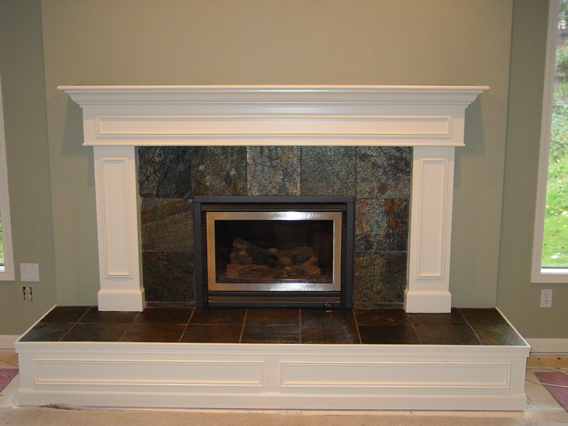 New construction gas fireplace fireplaces for New construction fireplace
